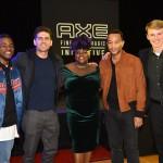 Show with John Legend at Centennial High School
